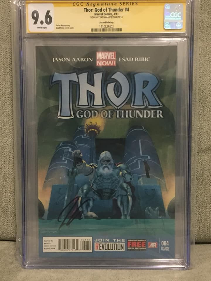Thor God of Thunder #4 (2nd Printing signed by Jason Aaron).jpg
