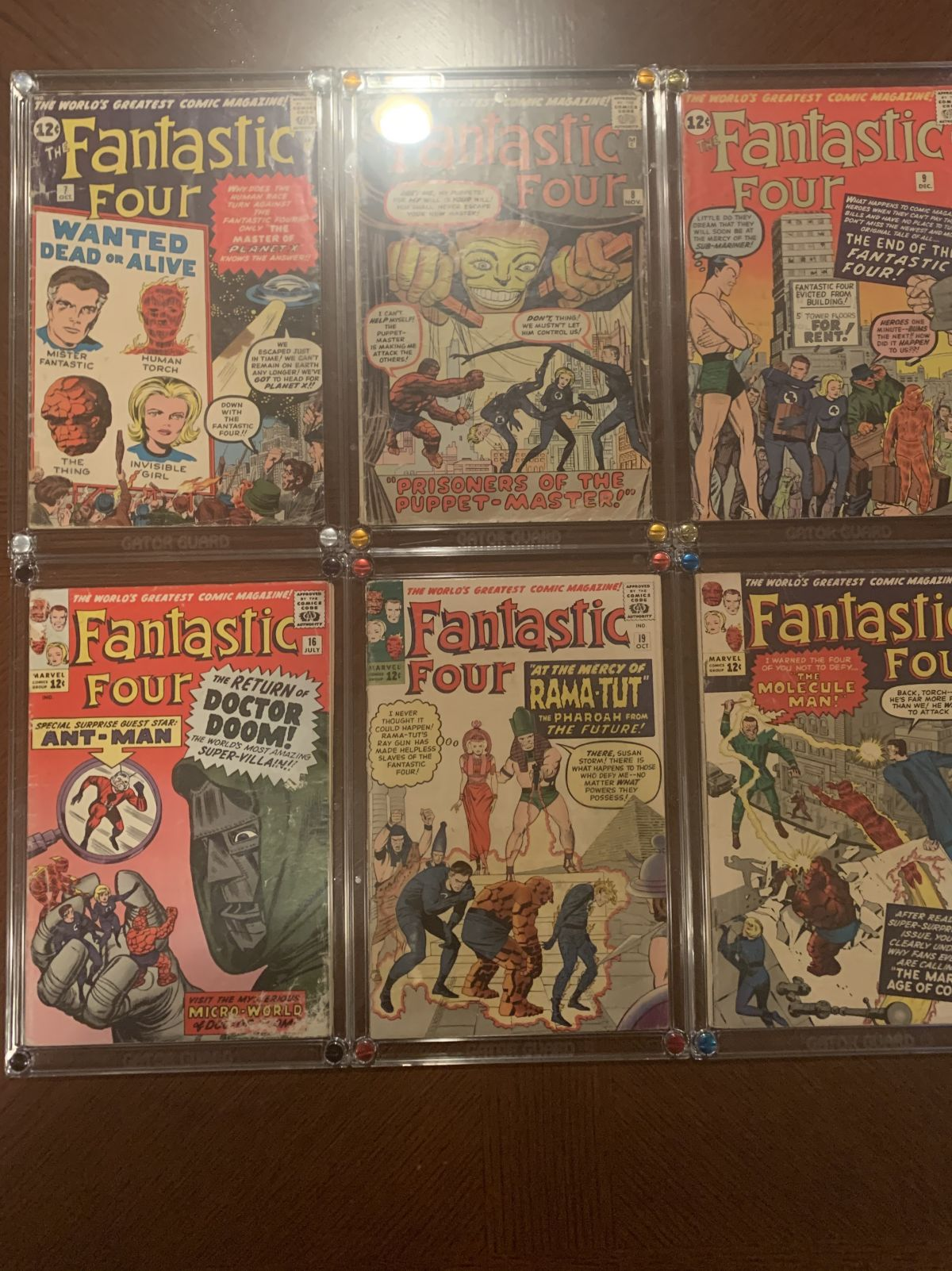 Fantastic Four 7 8 9 16 19 20 For Sale On Ebay 2 0 4 5 Cases Not Included Comics Market Sales Advertising Ebay Dealers Etc Cgc Comic Book Collectors Chat Boards