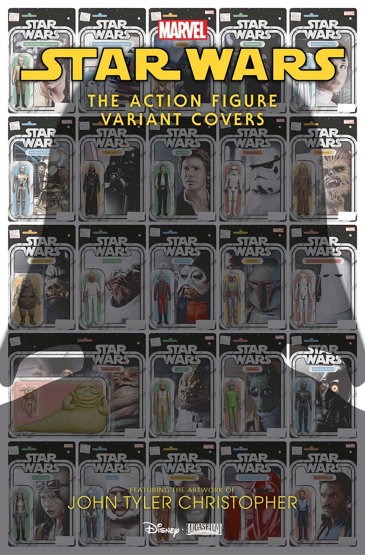 STAR WARS #53 LOGRAY EWOK SHAMAN ACTION FIGURE VARIANT COMIC BOOK