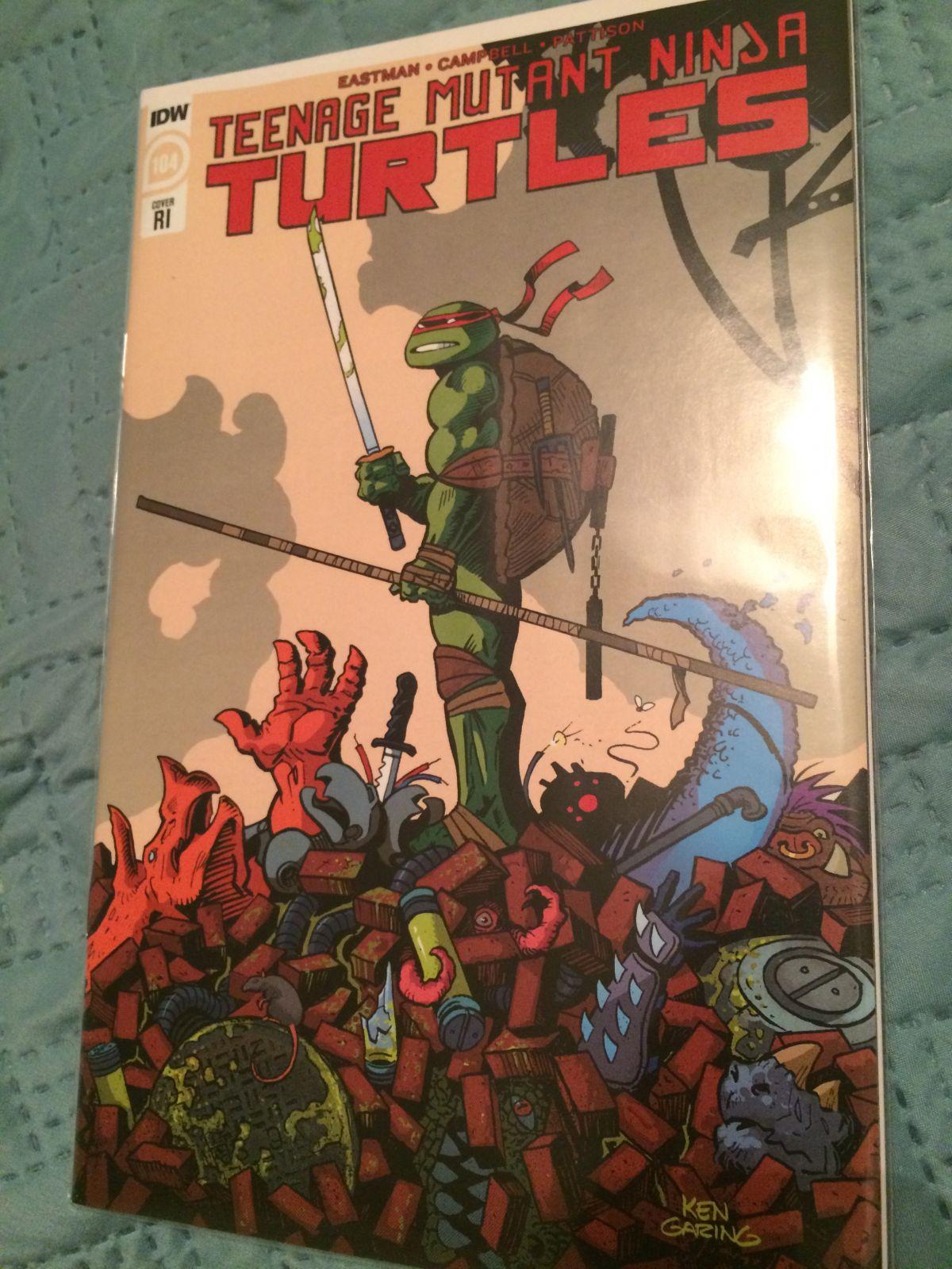 Tmnt 104 Ri Cover Copper Age Comic Books Cgc Comic Book
