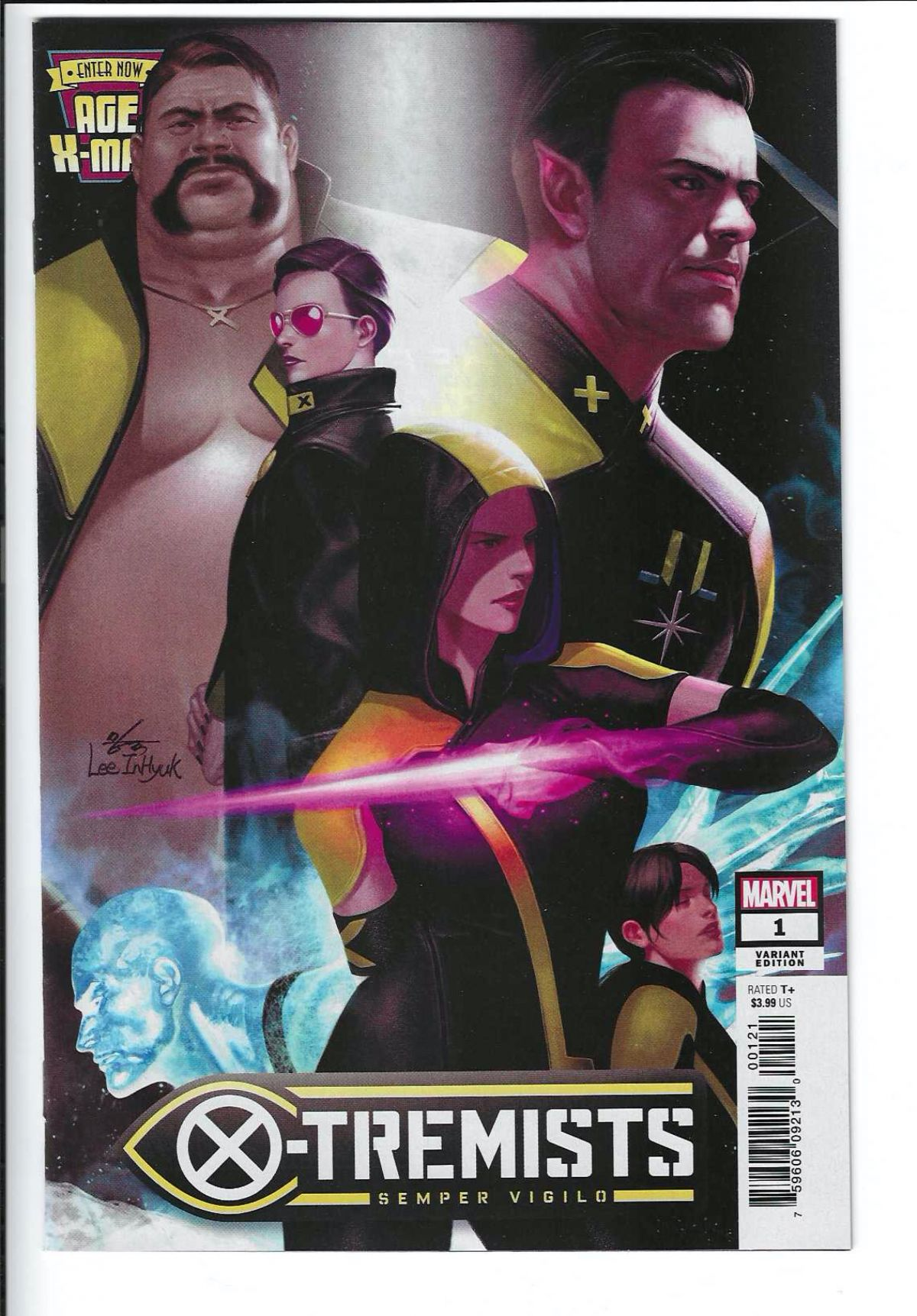 AGE OF XMAN MARVELOUS XMEN #1 2019 LEE CONNECTING VARIANT COVER STOCK IMAGE