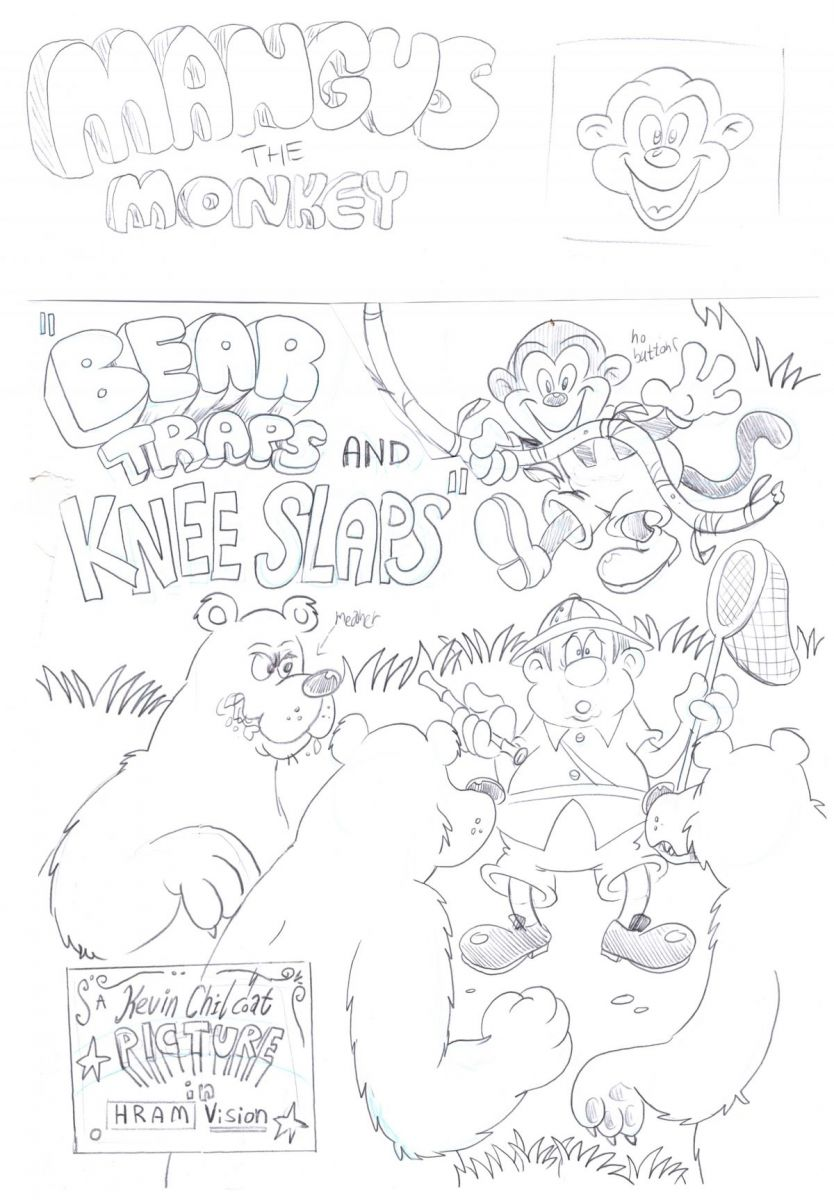 Morrice, Andrew - Lands of Toons 1 Bear Traps Variant Cover (original art).jpg