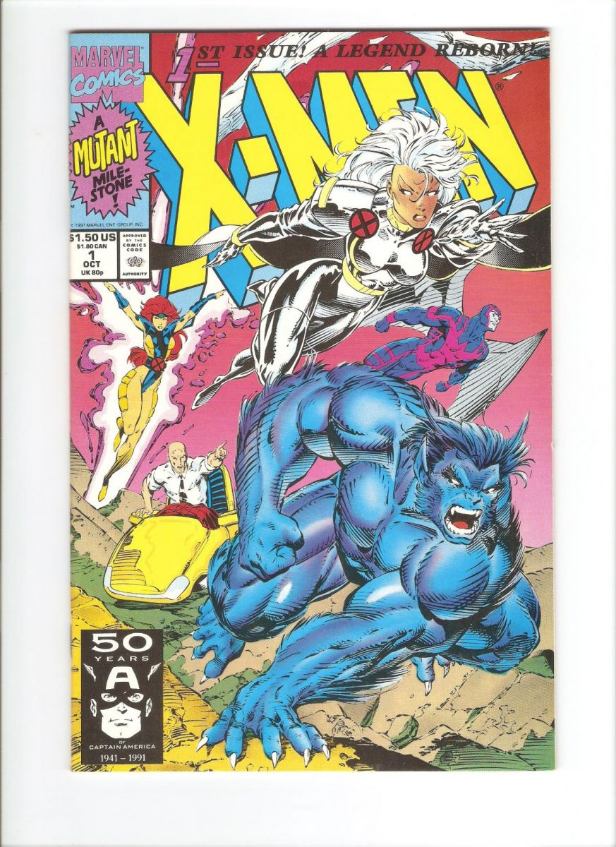 X-Men #1 1991 VF+ (Slight spine roll, otherwise NM).jpeg