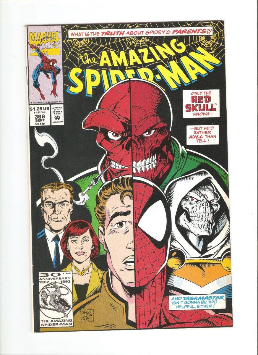 Amazing Spider-Man #366 VF+.jpeg