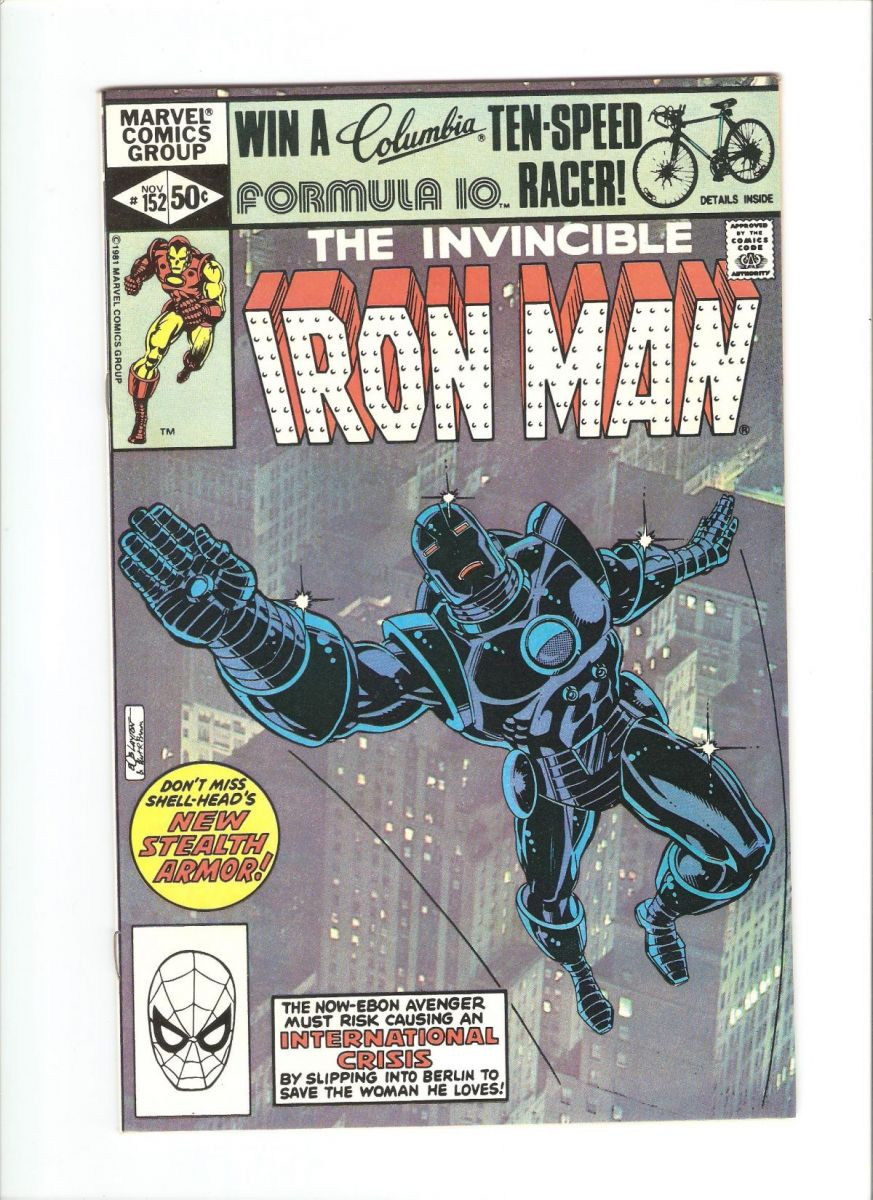 Iron Man #152 NM-.jpeg