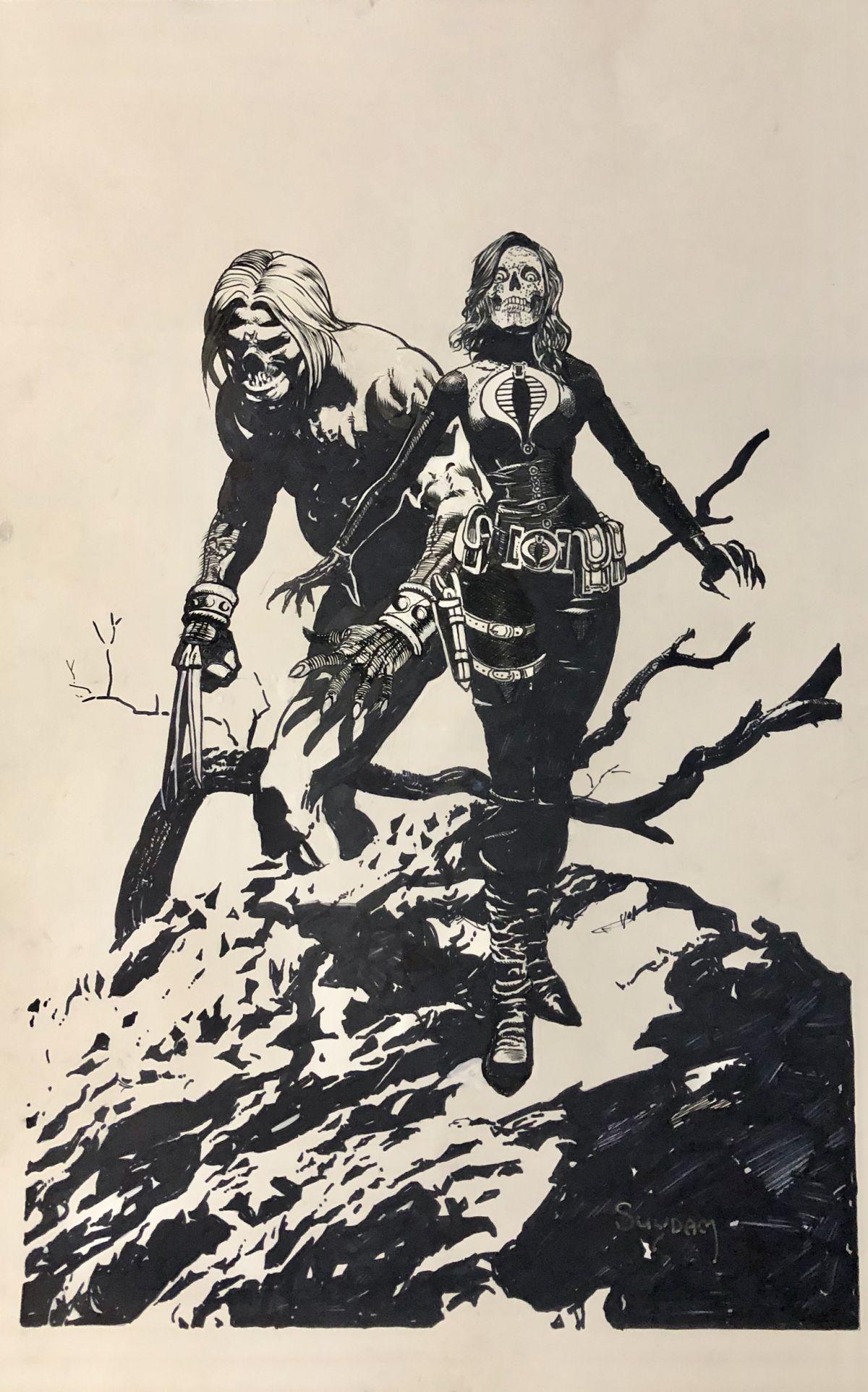 » Morbius (2013) # 1 Original Art Comic Book Cover By Tim
