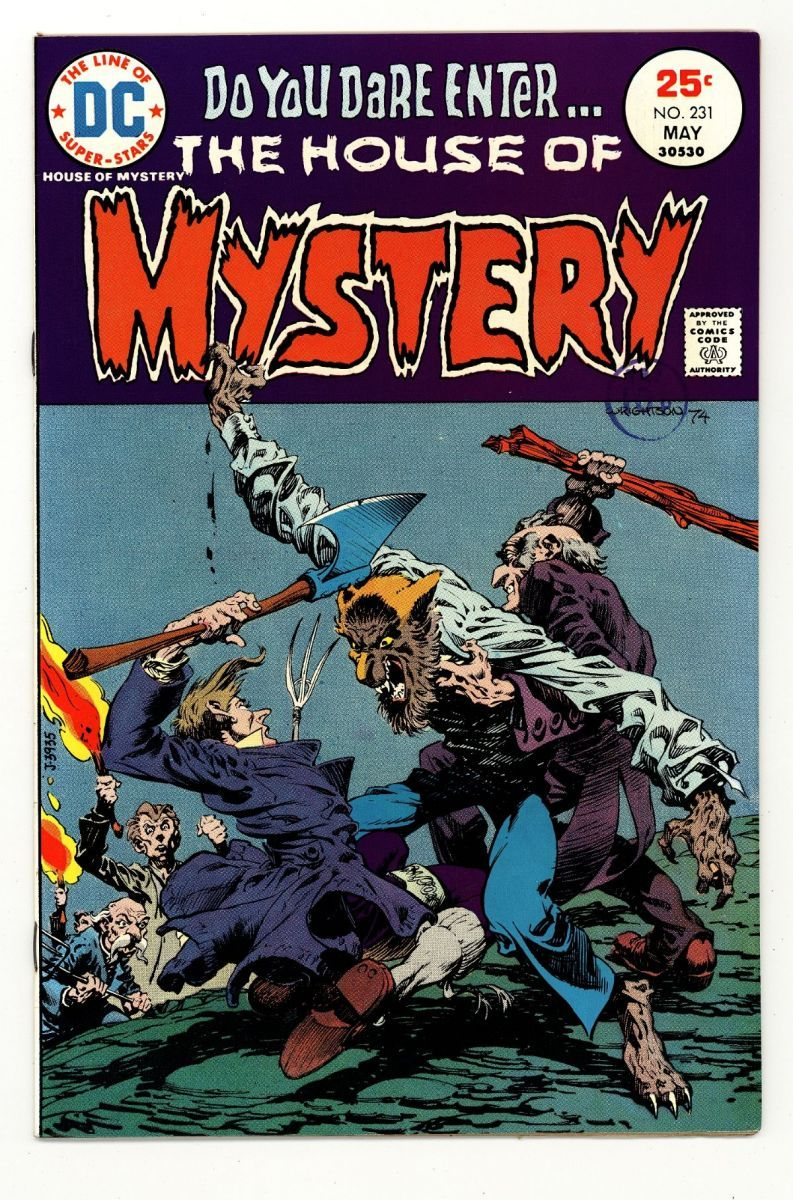 House of Mystery 231 VFNM ArexC.jpg