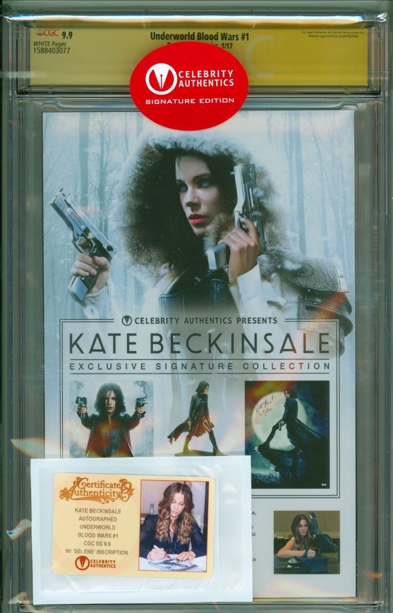 Underworld Blood Wars 1 CGC 9.9 SS Kate Beckinsale back cover.jpg