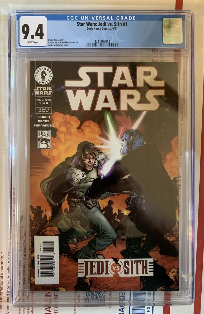 Star Wars Jedi vs Sith #1 $276.76 CGC 9.4 1st Darth Bane.jpg